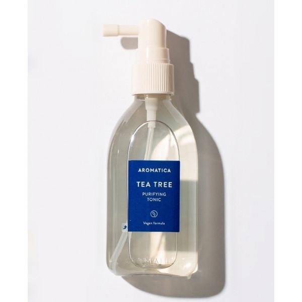 AROMATICA Тоник для жирной кожи головы с чайным деревом Tea Tree Purifying Tonic (100 мл)
