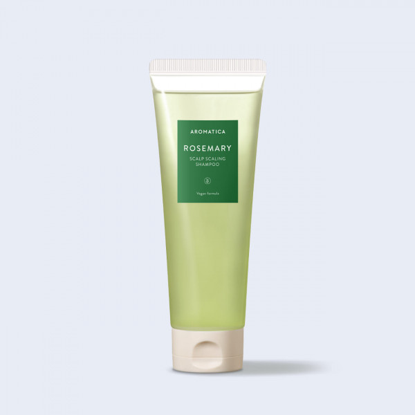 AROMATICA Бессульфатный укрепляющий шампунь с розмарином Rosemary Scalp Scaling Shampoo (180 мл)