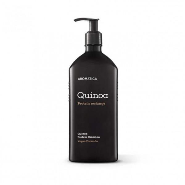 AROMATICA Бессульфатный шампунь c протеинами для повреждённых волос Quinoa Protein Hair Shampoo (400 мл)