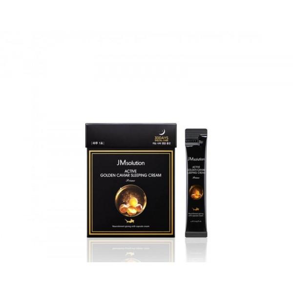 JMsolution Ночная маска с золотом и икрой