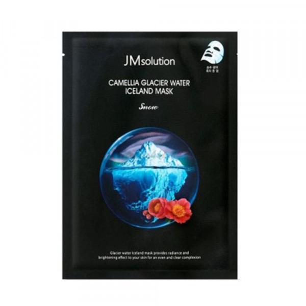 JMsolution Тканевая маска с экстрактом камелии и ледниковой водой