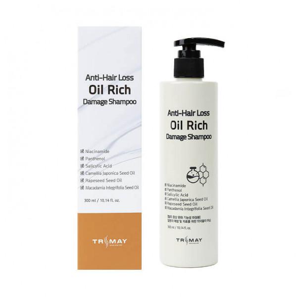 Trimay Питательный шампунь для поврежденных волос Damage (300 мл)