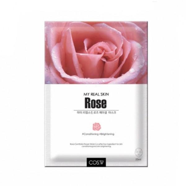 COS.W Тканевая маска c Розой