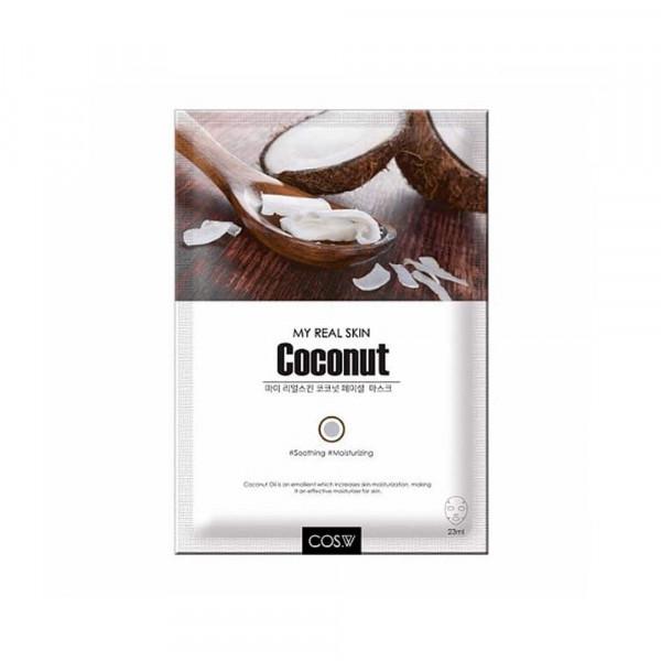 COS.W Тканевая маска для лица с кокосом