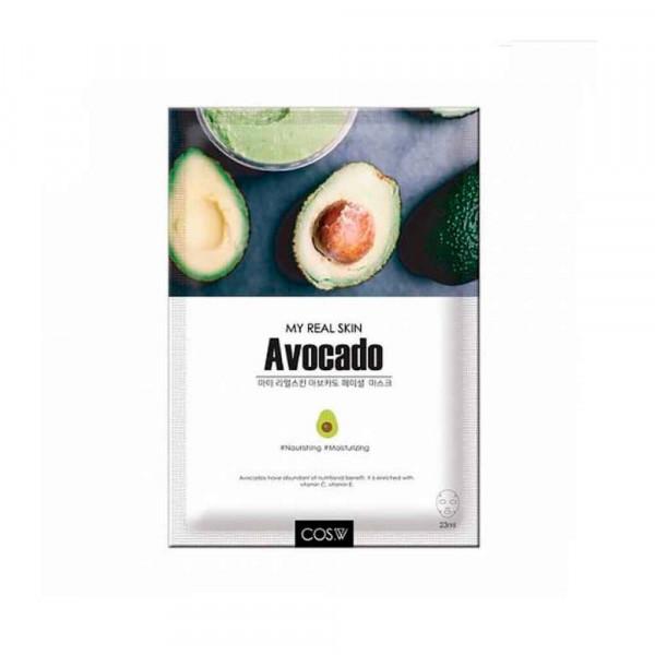 COS.W Тканевая маска для лица с авокадо
