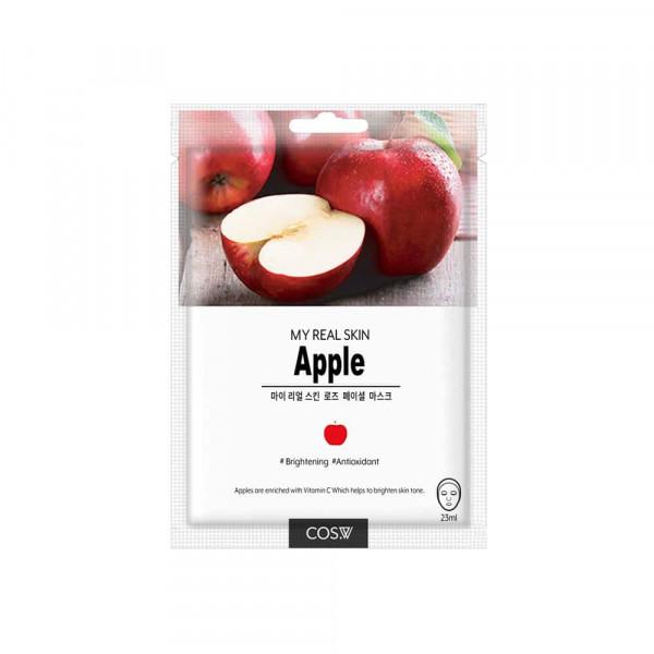 COS.W Тканевая маска для лица с яблоком
