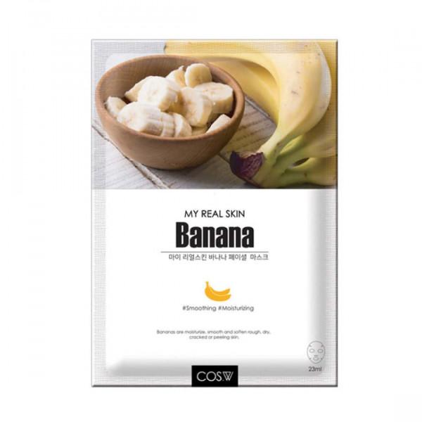 COS.W Тканевая маска с экстрактом банана