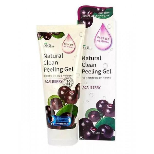 Ekel Пилинг-скатка с экстрактом ягод асаи