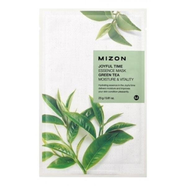 MIZON Тканевая маска для лица с экстрактом зеленого чая