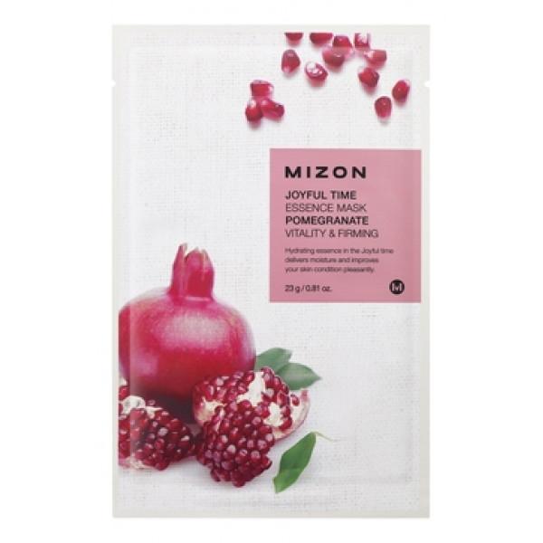 MIZON Маска для лица тканевая c гранатом