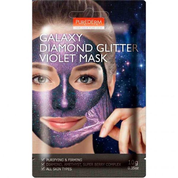 PUREDERM Очищающая и укрепляющая маска (фиолетовая)
