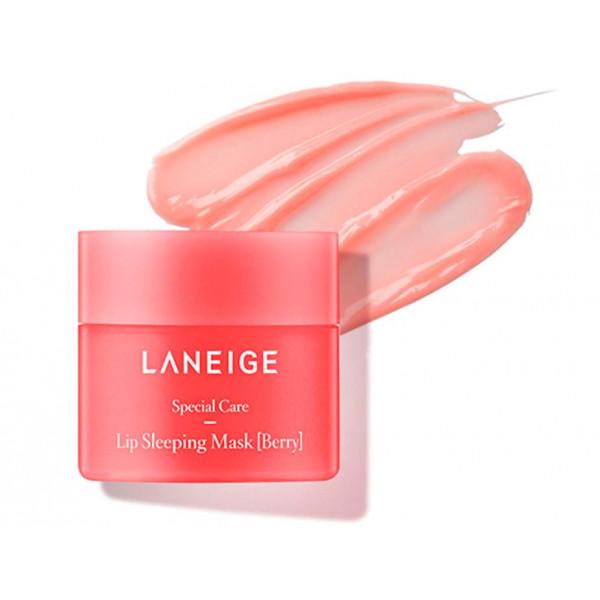 LANEIGE Маска для интенсивного питания и восстановления нежной кожи губ в ночное время  (3 гр)