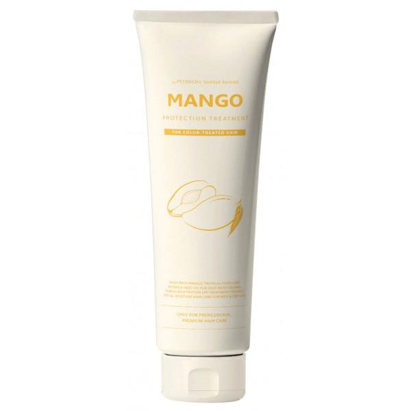 Pedison Маска для глубокого питания и увлажнения сухих и обезвоженных волос с маслом манго (100 мл)