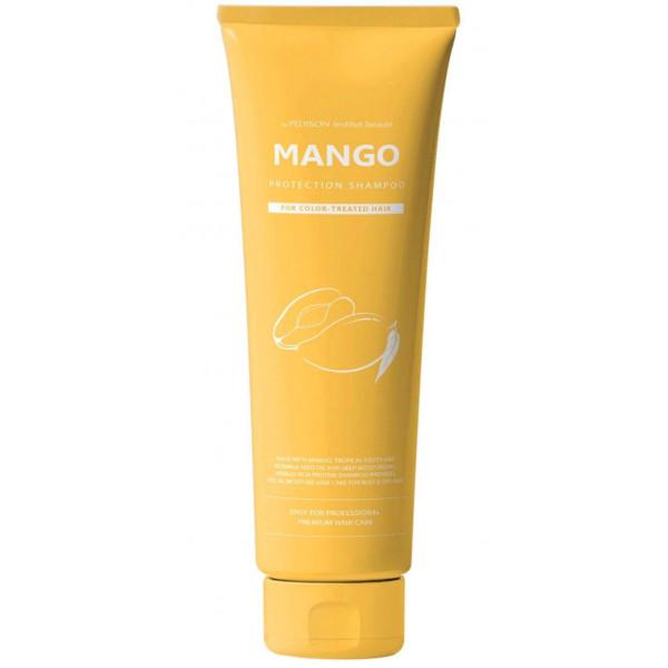 Pedison Шампунь для глубокого питания и увлажнения сухих и обезвоженных волос с маслом манго (100 мл)