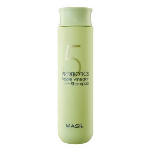 MASIL Шампунь от перхоти с яблочным уксусом 5 Probiotics Apple Vinergar Shampoo (300 мл)