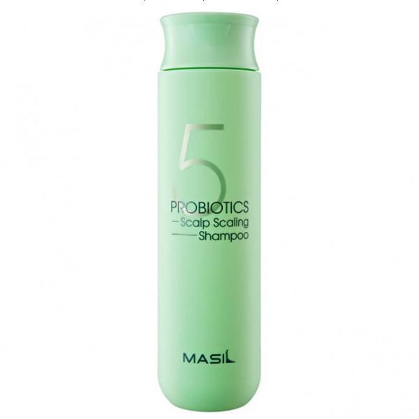MASIL Глубокоочищающий шампунь с пробиотиками 5 Probiotics Scalp Scaling Shampoo (300 мл)