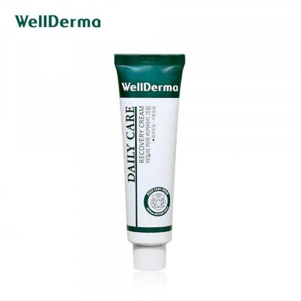 WellDerma Восстанавливающий и успокаивающий крем для чувствительной кожи 30 мл