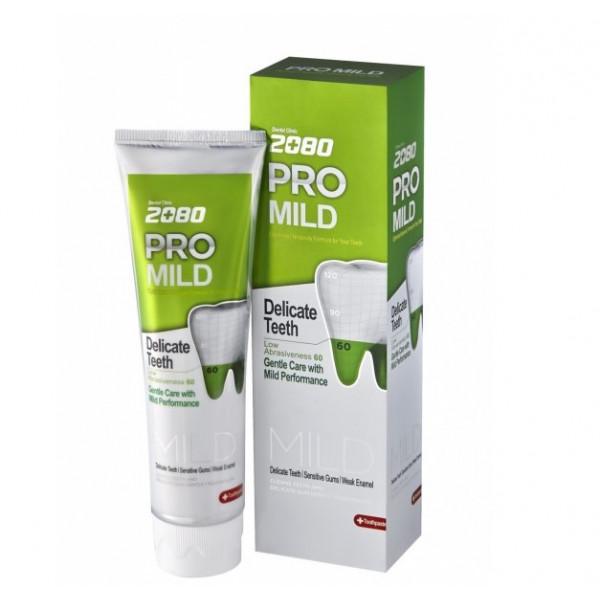 Dental Clinic 2080 Зубная паста Мягкая защита мята Pro Mild (125 мл)