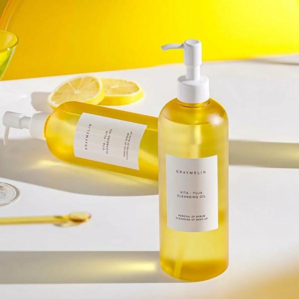 GRAYMELIN Очищающее гидрофильное масло с витаминным комплексом Vita-Yuja Cleansing Oil (400 мл)
