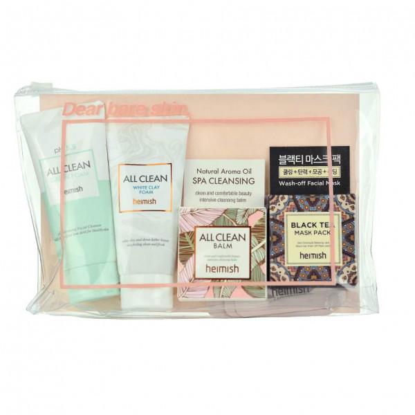 Heimish Набор миниатюр для всех типов кожи All Clean Mini Kit 5