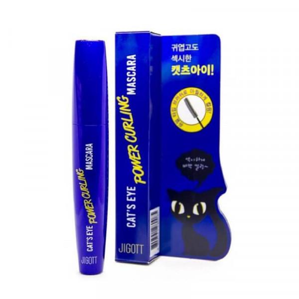 JIGOTT Power Curling Mascara -  тушь для ресниц подкручивающая