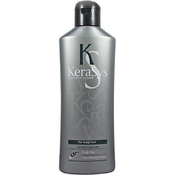 KERASYS Шампунь для жирной кожи головы освежающий (180 мл)