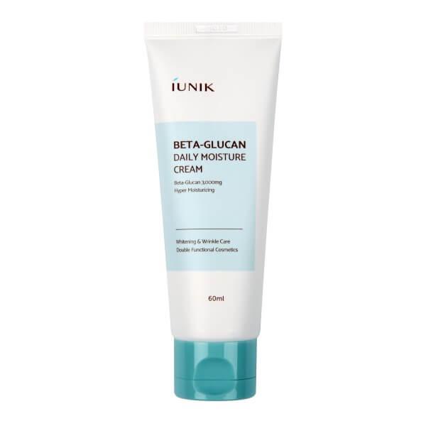 iUnik Увлажняющий крем для лица с бета-глюканом (60 мл)