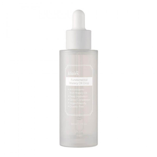 Dear, Klairs Антиоксидантная сыворотка для сияния кожи Fundamental Watery Oil Drop (50 мл)